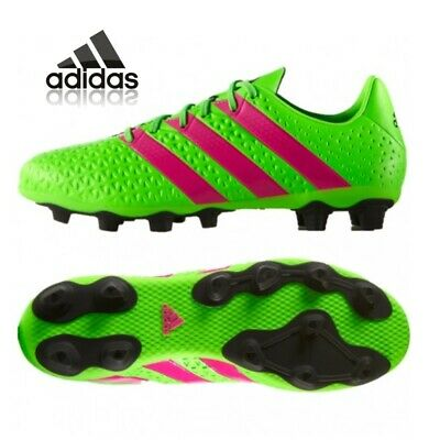 a974b2e31 adidas Ace 16.4 Boys Football Boots Girls Junior Kids Firm Ground Size 13-5  NEW