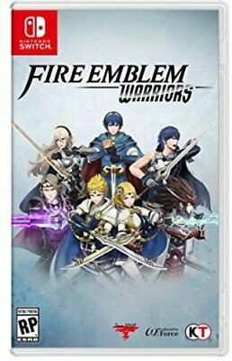 Fire Emblem Warriors (Nintendo Switch, 2017) BRAND NEW! FACTORY SEALED!