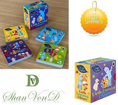 In the Night Garden Little Learning Library 4 Books Baby and Toddlers Hardback