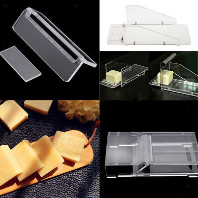 4Set DIY Soap Mold Acrylic Loaf Cutter Box and Steel Wire Soap Cutter Slicer