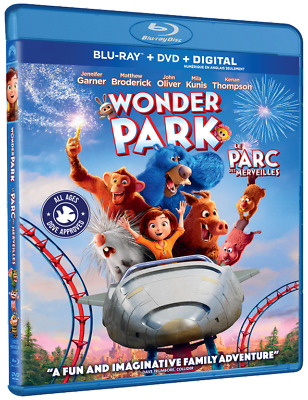 WONDER PARK (2019) [Blu-ray+DVD+Digital] New!! Pre-order June 18 (Free Shipping)