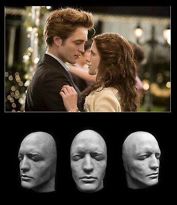 Life Mask Plastic Robert Pattinson Twilight Harry Potter Cast Lifemask Lifecast