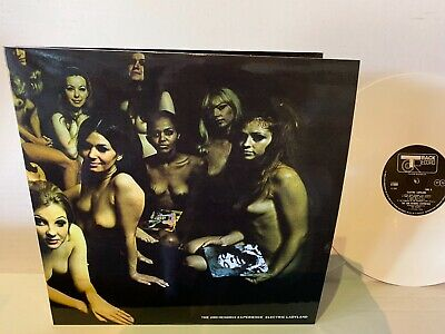 Jimi Hendrix - Electric Ladyland - Nude Banned Cover Art  White Colored Vinyl LP