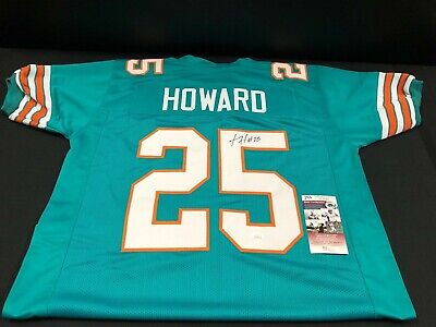 MIAMI DOLPHINS HOWARD Twilley #81 Signed Home Jersey 1972 Undefeated  yuFJT2nc