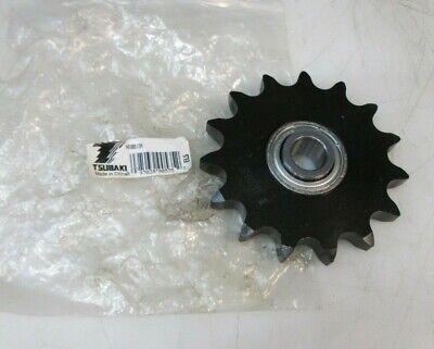 "Tsubaki 60Bb15H 15 Tooth 3.98"" Diam Chain Idler Sprocket New Free Shipping"