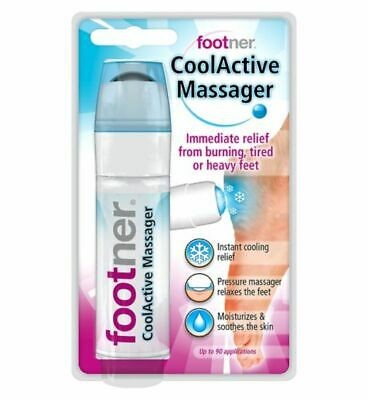 FOOTNER Cool Active Feet Massager Pain Relief Spray 50ml - Up to 90 Applications