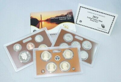 2013 United States Mint Proof Set with Box & Certificate of Authenticity