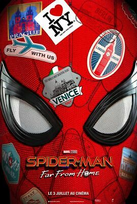 "Affiche roulée 120x160 cm ""Spiderman Far From Home"""