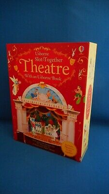Usborne Slot-Together Theatre with Usborne Book Unused Condition Complete Boxed