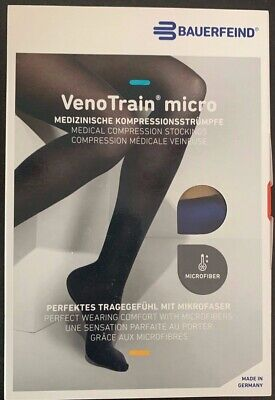 0aa99e373c BAUERFEIND VENOTRAIN MICRO Compression Stockings Ccl2 M Normal Long ...