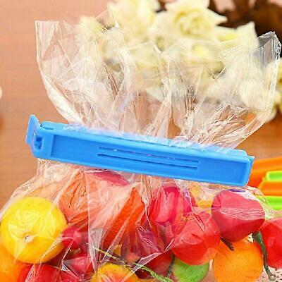 1/5/10pcs Durable Kitchen Storage Food Snack Sealing Bag Clips Clamp Plastic New