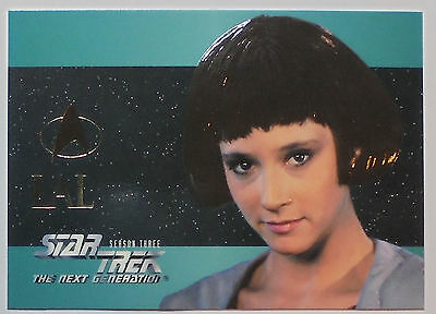 1996 skybox, Star Trek TNG Season 3; Foil Embossed card  #S17