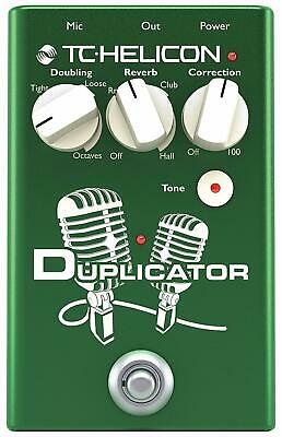TC-Helicon 996372001 Duplicator Vocal Effects Stompbox Pedal New