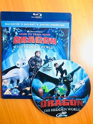 How to Train Your Dragon: The Hidden World (2019, Blu-ray 3D disc)