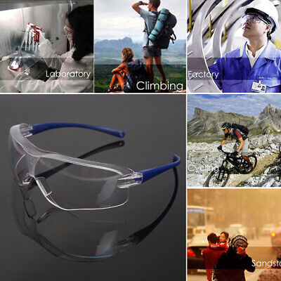 Anti-impact Dust Eye Protective Factory Lab Work Safety Glasses Proof Goggles