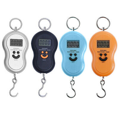 50Kg/10g Pocket LCD Digital Fish Hanging Luggage Weight Hook Portable Scale Fine