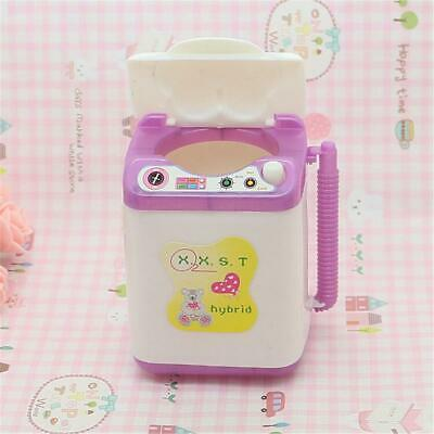 Electric Furniture Doll Machine Dollhouse Washing House Toy Accessories Mini