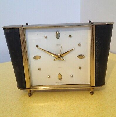 MID CENTURY MODERN SMITHS SECTRIC ELECTRIC CLOCK 1950s 1960s