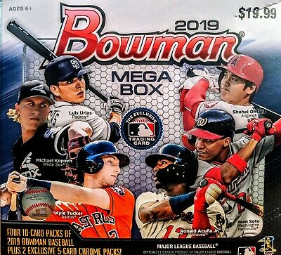 You Pick! - 2019 Bowman Chrome MOJO Mega Box Refactor Inserts & Singles!