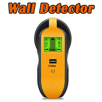 4in1 LCD Metal Detector Stud Center Scanner Finder Wall AC Live Cable Wire Test