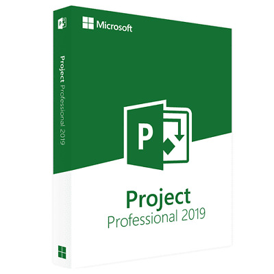 MICROSOFT PROJECT 2019 Professional Plus - 32/64 Bit - Licenza originale ESD