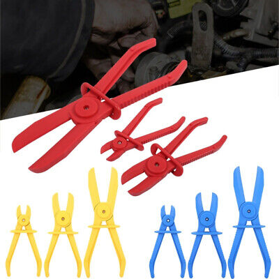 3Pcs Portable Practical Brake Fuel Water Line Hose Clamp Pliers Hand Tool Set BF