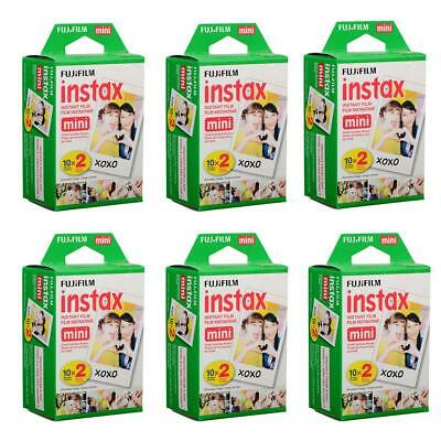 Fujifilm 6 Pack instax mini Instant Daylight Film Twin Pack, 20 Exposures