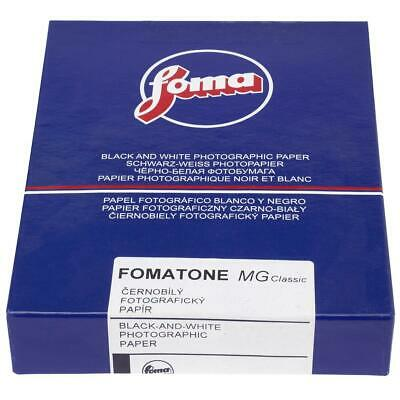 "Foma Fomatone MG Classic 131 VC FB Paper, Glossy, 8x10"", 25 Sheets #23629"