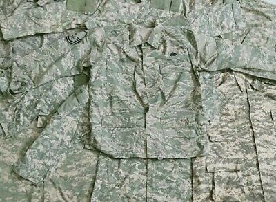 45kg X Genuine USA Army Digicamo Shirts Wholesale Job Lot Bundle