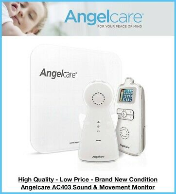 Angelcare AC403 Movement and Sound Baby Monitor *BRAND NEW*