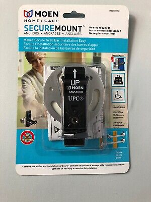 Moen Home Care Secure Mount Anchor Bathroom Safety SMA1005CH NEW