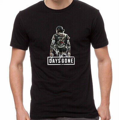 Days Gone Adventure Play Station 4 PS4 Games Cool Classic T-Shirt DGO-0005
