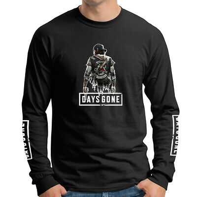 Days Gone Adventure Play Station 4 PS4 Games Long Sleeve T-Shirt DGO-LS-0005