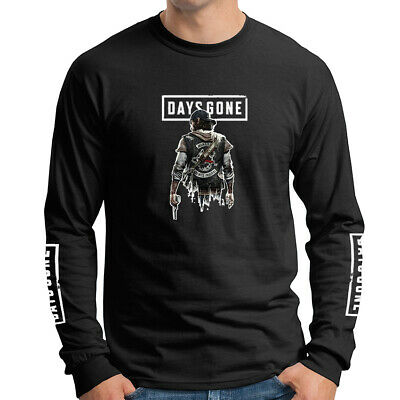 Days Gone Adventure Play Station 4 PS4 Games Long Sleeve T-Shirt DGO-LS-0006