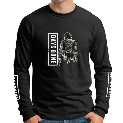 Days Gone Adventure Play Station 4 PS4 Games Long Sleeve T-Shirt DGO-LS-0008