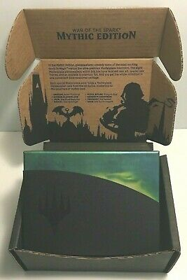 Magic: the Gathering GUILDS WAR OF THE SPARK MYTHIC EDITION REPACKED BOX REPACK