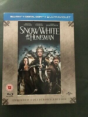 Snow White And The Huntsman Blu Ray DVD Extended Collectors Edition Art Cards