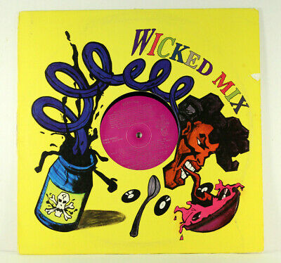 Wicked Mix 04 Vinyl Lp Record Remix Monie Love Tara Kemp Tom Tom Club C&C Rare