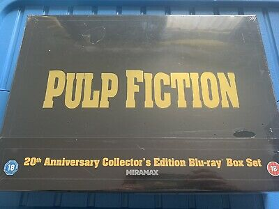 New/Sealed Pulp Fiction 20th Anniversary Deluxe Blu-ray Box Set