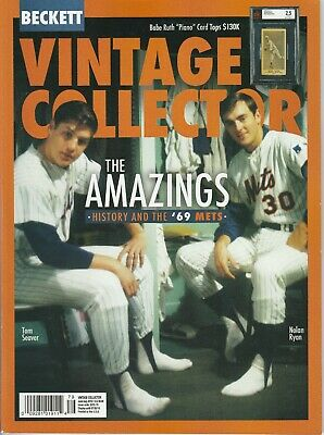 New Current Beckett Bb Fb Bsk Hky Vintage Price Guide, June/July (Seaver & Ryan)