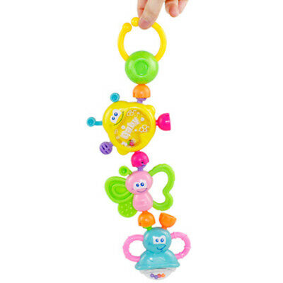 7Pcs Creative Baby Rattles Educational Baby Toys Develop Baby Intelligence Toys