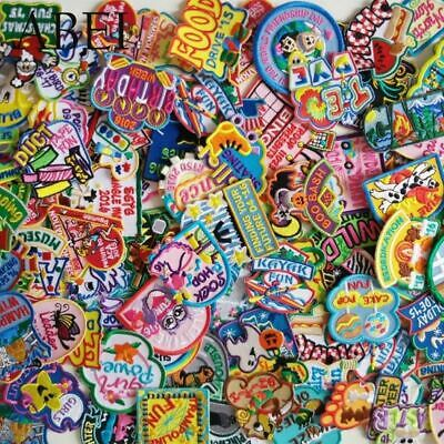 15pcs/lot Quality Cartoon Embroidered Patches Iron On Cute Clothes Appliques for