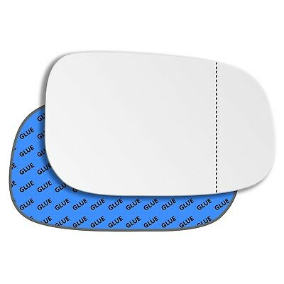 Left Side Wide Angle Mirror Glass for Volvo V70 2007-2010 0092LAS