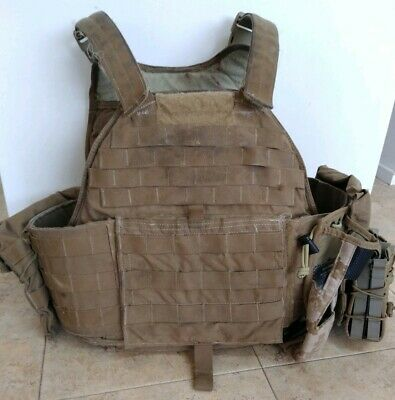 USMC EAGLE INDUSTRIES Scalable Plate Carrier SPC IIIA MEDIUM USMC *VGC*