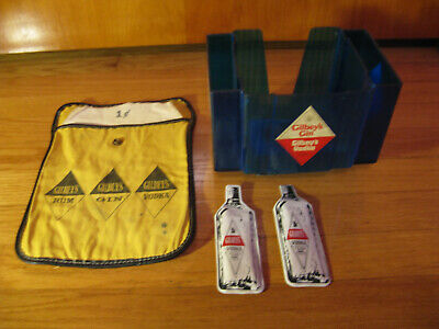5 Vintage Items Advertising Gilbey's  Gin/Vodka