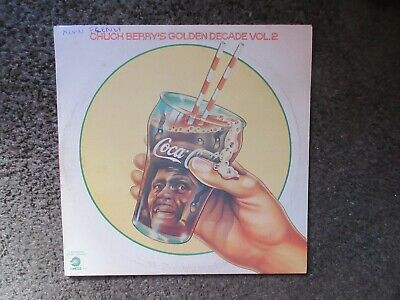 "CHUCK BERRY ""CHUCK BERRY'S GOLDEN DECADE VOL.2"" 1972 CHESS VG+/VG 24TRX.OOP 2LPs"