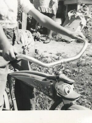 antique Shelby Bicycle Co DONALD DUCK  Bike Photograph