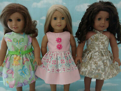 """18"""" Doll Dress fits 18 inch American Girl Doll Clothes 62abc"""