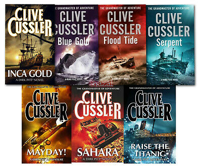 43 Audiobooks - The Clive Cussler Ultimate Audiobook Collection Mp3 DVD Unabridg