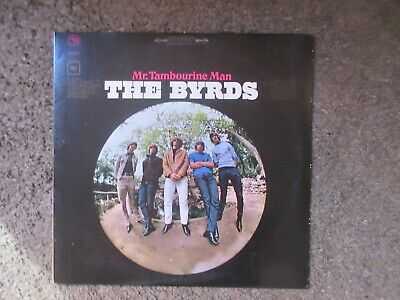 "The Byrds ""Mr. Tambourine Man"" Reissue Nm-/Nm Stereo Pc-9172 Oop Classic Rock Lp"